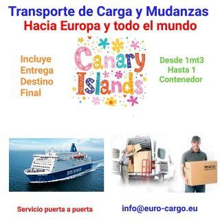 Mudanzas Internacionales Desde Islas Canarias